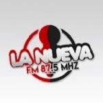 Logo da emissora Radio FM La Nueva 87.5