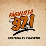 Logo da emissora Rádio Fabulosa FM