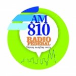 Logo da emissora Radio Federal 810 AM