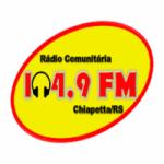 Logo da emissora Rádio 104.9 FM Chiapetta