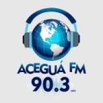 Logo da emissora Radio Aceguá 90.3 FM
