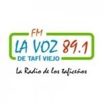 Logo da emissora Radio La Voz de Tafi Viejo 101.3 FM