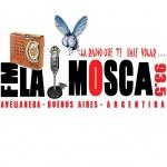 Logo da emissora Radio La Mosca 93.5 FM