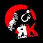 Logo da emissora Radio Kolor 106.2 FM