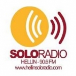 Logo da emissora Solo Radio 90.6 FM