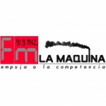 Logo da emissora Radio La Maquina 91.9