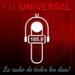 Logo da emissora Radio Universal 105.9 FM