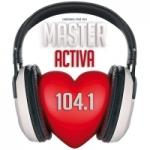 Logo da emissora Radio Master Activa 104.1 FM