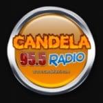 Logo da emissora Radio Candela 95.5 FM