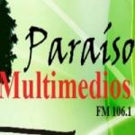 Logo da emissora Radio Paraiso 106.1 FM