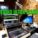 Logo da emissora Rádio Ultra Flash
