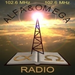 Logo da emissora Radio Alfa e Omega 106.2 FM