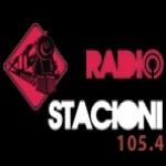 Logo da emissora Radio Stacioni 105.4 FM
