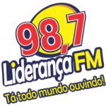 Logo da emissora Rádio Liderança 98.7 FM