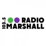 Logo da emissora Radio Marshall 103.5 FM