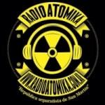 Logo da emissora Radio Atomika 106.1 FM