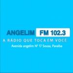 Logo da emissora Rádio Angelim 102.3 FM