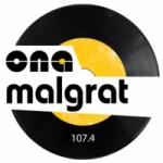 Logo da emissora Radio Ona Malgrat 107.4 FM