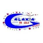 Logo da emissora Radio Galaxia 105.9 FM