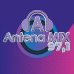 Logo da emissora Rádio Antena Mix FM