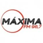 Logo da emissora Rádio Maxima 96.7 FM