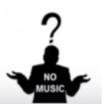 Logo da emissora No Music Radio