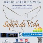 Logo da emissora Rádio Sopro Da Vida