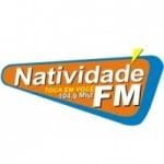 Logo da emissora Rádio Natividade 104.9 FM