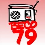 Logo da emissora Rádio Beco 79