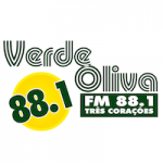 Logo da emissora Rádio Verde Oliva 88.1 FM