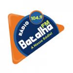 Logo da emissora Rádio Batalha 104.9 FM