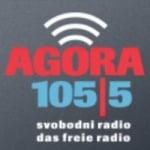 Logo da emissora Radio Agora 105.5 FM