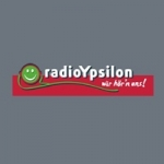 Logo da emissora Radio Ypsilon 94.5 FM