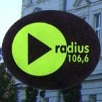 Logo da emissora Radio Radius 106.6 FM