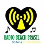 Logo da emissora Rádio Beach Brazil