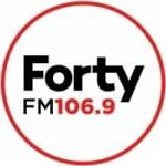 Logo da emissora Radio Forty 106.9 FM