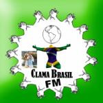 Logo da emissora Rádio Clama Brasil FM