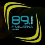 Logo da emissora Radio Latina 89.1 FM