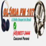 Logo da emissora Rádio Glória FM 107