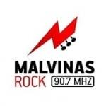 Logo da emissora Radio Malvinas Rock 90.7 FM