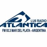 Logo da emissora Radio Atlántica 93.3 FM