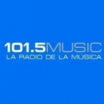 Logo da emissora Radio Music 101.5 FM