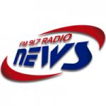 Logo da emissora Radio News 91.7 FM