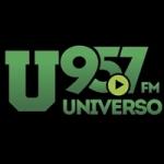 Logo da emissora Radio Universo 95.7 FM