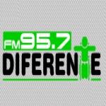 Logo da emissora Radio Diferente 95.7 FM