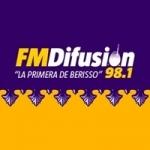 Logo da emissora Radio Difusión 98.1 FM