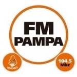 Logo da emissora Radio Pampa 104.5 FM