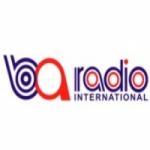Logo da emissora Radio BA International 104.6 FM