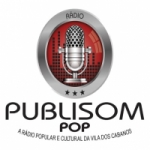Logo da emissora Rádio Publisom Pop Barcarena