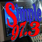 Logo da emissora Simple 97.3 FM